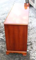 1960's Good Yew Wood 9 Drawer Chest Drawers (2 of 4)