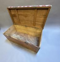 19th Century Campaign Camphor Chest Seat (2 of 13)