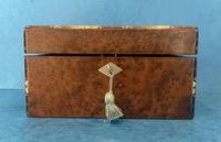 Victorian Burr Cedar Jewellery Box (5 of 11)