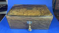 Victorian Brass Inlaid Walnut Writing Slope (18 of 21)