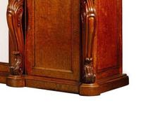 Large George IV, Plum Pudding Mahogany Side Cabinet (3 of 4)