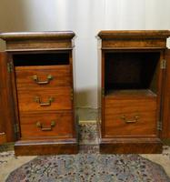 Pair of Walnut Bedside Cabinets (8 of 8)