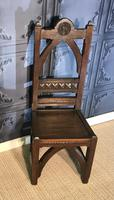 Victorian Gothic Revival Hall Chair (8 of 13)