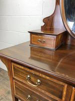 Edwardian Inlaid Mahogany Dressing Table (7 of 10)