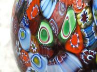 2 Italian Murano 20th Century Fratelli & Torso Millefiori Glass Vases (3 of 15)
