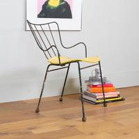 Early Ernest Race Antelope Chair Yellow