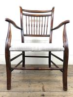 Antique 19th Century Spindle Back Chair (7 of 13)