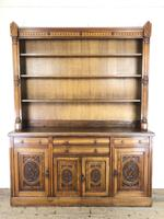 Early 20th Century Antique Oak Dresser (15 of 16)