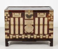 Very Decorative Chinese Marriage Chest (4 of 7)