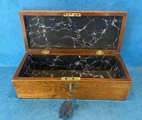 Victorian Burr Maple, Mahogany & Walnut Box (8 of 11)