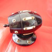 19th Century Lignum Vitae Rotating String Dispenser (2 of 3)