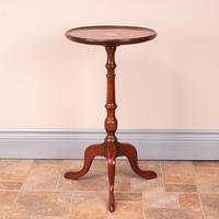 1920s Fan Inlaid Mahogany Wine Table (6 of 8)