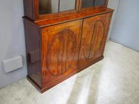 Tall George III Mahogany Cabinet Bookcase (8 of 13)