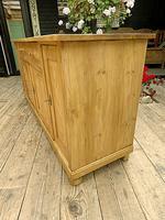 Big! Old 2m Pine Dresser Base Sideboard / Cupboard / TV Stand - We Deliver! (5 of 13)