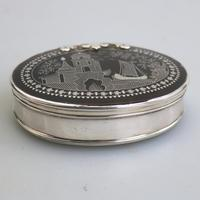 Fine Charles II Solid Silver, Pique & Tortoiseshell Snuff Box C.1680 (7 of 11)