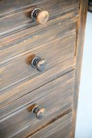 Pair of Stained Beech Chest of Drawers (8 of 16)