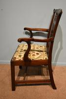 18th Century Chippendale Period Mahogany Armchair (2 of 7)