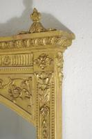 Victorian Gilt Adam Style Overmantle Mirror (6 of 10)