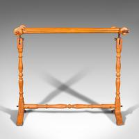 Antique Tapestry Stretcher, English, Beech, Needlepoint Frame, Victorian, 1900 (3 of 10)