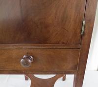 19th Century Georgian Mahogany Pot / Bedside Cupboard (12 of 13)