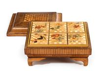 19th Century French Straw Work Box of Quite Outstanding Complexity (3 of 5)