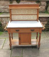 Pretty Marble Top Washstand (10 of 12)