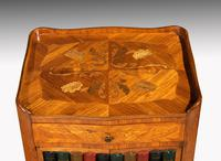 Pair of Late 19th Century Kingwood & Marquetry Night Cabinets (4 of 5)