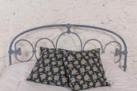 Lovely Rare All Iron Double Bed (5 of 8)