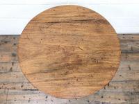 Late 18th Century Mahogany Pillar Tripod Table (3 of 7)
