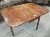 Early Drop Leaf Mahogany Dining Table (2 of 3)