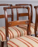 Set of 4 Regency Mahogany Dining Chairs (2 of 4)
