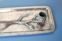 Arts & Crafts / Art Nouveau, Jugendstil Copper Pine Cone & Branch Candle holder c.1910 (8 of 28)