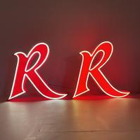 Large Retro American Diner Lights (2 of 12)