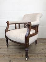 Pair of Victorian Mahogany Tub Chairs (7 of 17)