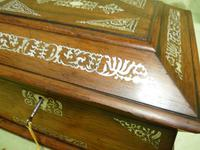 Large Inlaid Rosewood Jewellery / Table Box c.1835 (10 of 12)
