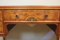 Quality Burr Walnut Side Table Writing Desk (9 of 14)