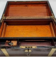 Antique 19th Century Miller Bristol & Clifton Military Writing Slope (4 of 10)
