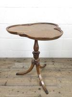 Antique Mahogany Tripod Side Table (9 of 9)