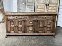 Rustic Oak Spanish Sideboard (2 of 13)