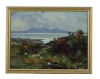 Highland Sheep  David Fulton RSW  Scotitsh 1848-1030 Oil Painting