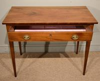 Late 18th Century Mahogany Side Table (5 of 5)