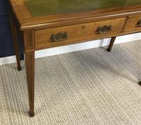 Victorian Inlaid Mahogany Writing Desk (12 of 20)