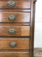 19th Century Elm Chest of Drawers (4 of 11)
