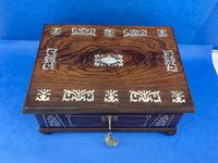 William IV Rosewood Box With Mother Of Pearl Inlay (9 of 14)