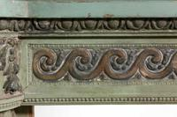 Well Carved 19th Century Pine and Gesso Fire Surround (5 of 9)
