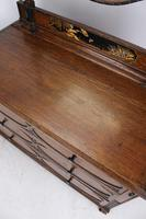 Oak Chinoiserie Dressing Chest of Drawers (12 of 13)