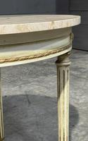 French Round Marble Top Coffee Table (11 of 15)
