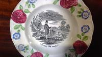 Pair of Antique Staffordshire Childs Nursery Learning Plates (5 of 5)