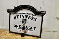 Traditional Large Guiness Hanging Pub Light 1950s (5 of 6)