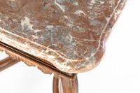 Early 18th Century Belgian Oak Side Table with Marble Top (4 of 17)